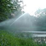Umwälzung des Gewässers