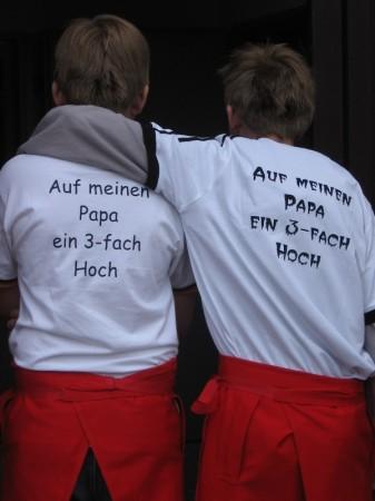 Auch Dirks Kinder würdigten die ehrenamtliche Arbeit ihres Vaters ©F 2952