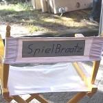 Endlich hat unser Regisseur seinen eigenen Stuhl
