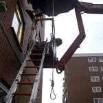 Kaum lässt man mal ein Stück Seil rumhängen ...