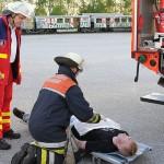 Die Johanniter waren für die Verletztenbetreuung verantwortlich