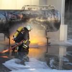 Zeitweise kam es sogar zu einer Brandausbreitung