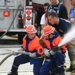 Im Juli 2007 waren die Stellinger Nachwuchsbrandbekämpfer für 10 Tage in New York zu Gast.