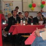 Landesjugendfeuerwehrwart Uwe von Appen, LBF Hermann Jonas und Hans-Erich Boennen, Geschäftsführer des LBF