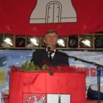 Landesbereichsführer Hermann Jonas bei seiner Ansprache