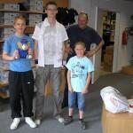 Einkleidung im Lion Shop vor einigen Wochen