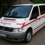 Der neue Jugendfeuerwehrbus der JF Blankenese