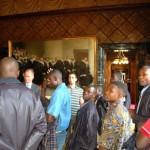 Die tansanischen Gäste entpuppten sich als interessierte Zuhörer