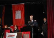 Oberbranddirektor Klaus Maurer bei seinem Grusswort an die versammelten Ehrenmitglieder