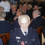 Walter Hicks war mit 95 Jahren ältestes, anwsendes Ehrenmitglied