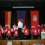 Der Musikzug der FF Bramfeld sorgte auch in diesem Jahr durch seine schwungvolle Musik für gute Laune im Saal