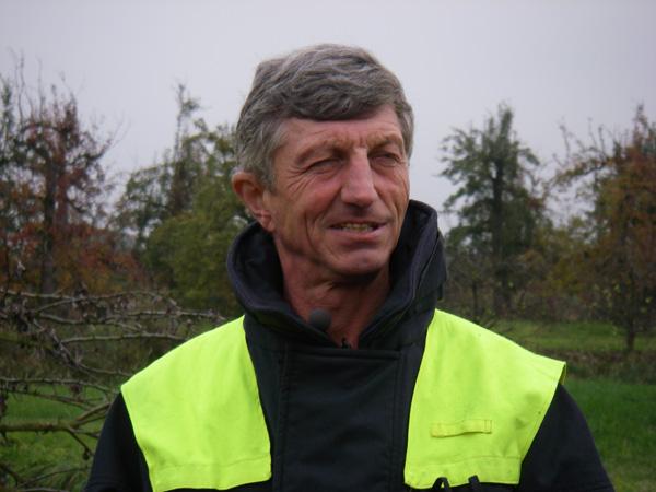 Unser Interviewpartner, Landesbereichsführer Hermann Jonas