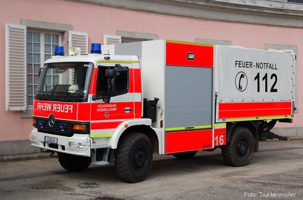 Vergleichsfahrzeug: Schlauchwagen für den Katastrophenschutz - Quelle: Truckenmüller
