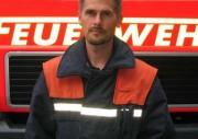 Christoph Stoll, seit 1983 Mitglied der FF Bergstedt