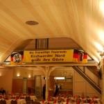 Im großen Saal des Gasthofs Hitscherberg... ©T. Klingwort
