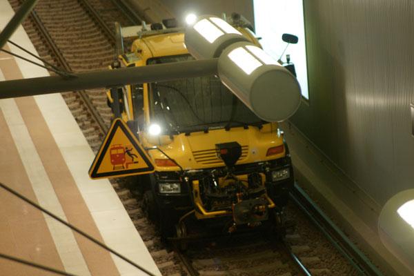 Die neuen Service-Fahrzeuge dürfen natürlich auch nicht fehlen! (©Graevell)