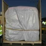 Die Altonaer Kistenfabrik sorgte für eine seegerechte Verpackung.
