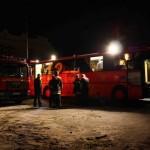Die Führungsstelle der Feuerwehr Hamburg am Feuerwehrhaus Blankenese  Copyright: Gregor Lütcke, FF Altona
