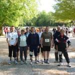 Die Mannschaft der FF Osdorf, in den Vorjahren die Zweitplazierten, litt unter Läufermangel, da 8 Läufer zur Truppmannprüfung im Bereich waren. (c) FFO