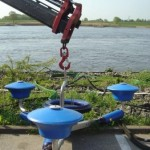 Der Skimmer dient zur Aufnahme des Wasser-Öl-Gemisches... ©F-2957