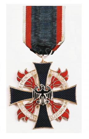 Feuerwehr Ehrenkreuz in Silber