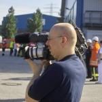 Thomas Schwarz von der Arbeitsgruppe Medien und Kommunikation (AG MuK) lieferte die Livebilder in das Medienzentrum des IfN
