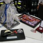 Die Geschenke zum 25jährigen Dienstjubiläum