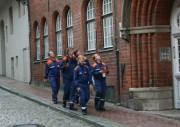 Auf der Suche nach der Aufgabenstation in der Lübecker Altstadt.