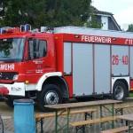Der neue Rüstwagen der Freiwilligen Feuerwehr Winsen an der Aller.