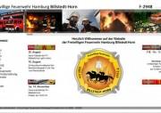 Hardcopy der neuen Internetseite.