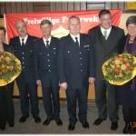 Neben den Kameraden wurden auch Ihre Frauen geehrt (©D.Frommer)