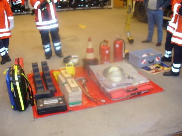 Ablageplatz technische Rettung der FF Rade, Lk Harburg, Niedersachsen