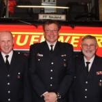 Harald Stengel, Michael Lackner, Burkhard Neumann (von Links)