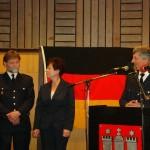 LBF Hermann Jonas würdigt die Verdienste von Hans-Erich Boennen und seiner Frau  Copyright: Sven Koopmann