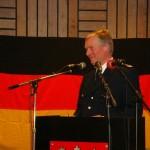 Er leitete gekonnt durch einen Großteil der Veranstaltung: LBF-V/S Werner Burmester