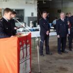 Die Führungskräfte würdigten das Engagement der Teilnehmer und überreichten anschließend die Urkunden und Pokale. ©G. Lampe