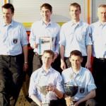 2012 sind sie die Ausrichter der beliebten Übungs- und Ausbildungsfahrt: Die fröhlichen Sieger der FF Kirchwerder-Süd. ©G. Lampe