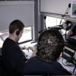 Die Strecken- und Sanitätsposten wurden im GW-FM der FF Berliner Tor koordiniert.
