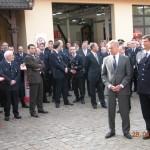 Erster Bürgermeister Ole von Beust mit HBM Clemens Reus(©D.Frommer)