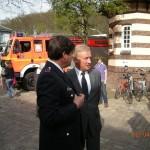 Erster Bürgermeister Ole von Beust mit HBM Clemens Reus (©D.Frommer)