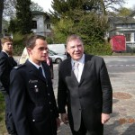Senator Christoph Ahlhaus mit WF Tobias Marquard (©D.Frommer)