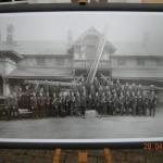 Aus dem Archiv: Das Feuerwehrhaus 1928, anläßlich des 50 jährigem Jubiläums der Wehr (©D.Frommer)