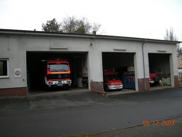 Das alte Feuerwehrhaus an der Osterleystraße (©D.Frommer)