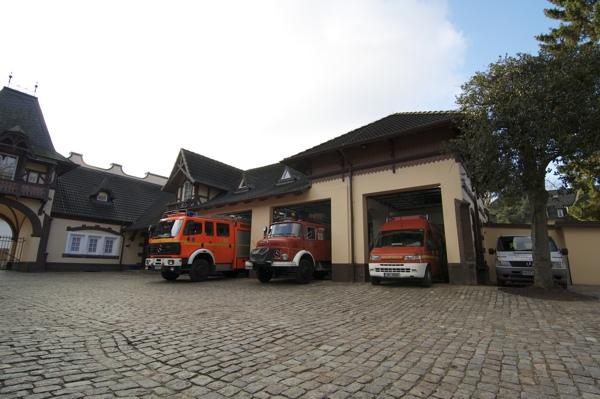 Das neue Feuerwehrhaus (Foto: Archiv FF Blankenese)