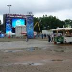 Während des zweiten Spiels war das Fanfest nur schwach besucht  Copyright: www.feuerwehr-hamburg.de