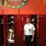 Landesjugendfeuerwehrwart Uwe von Appen auf dem DFV-Stand (©D.Frommer)