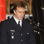 Leitender Branddirektor Stephan Wenderoth, Vertreter der Führung der Berufsfeuerwehr
