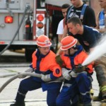 Die erste transatlantische Feuerwehr-Begegnung fand in New York im Jahr 2007 statt.