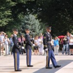 Wachwechsel am Grab des unbekannten Soldaten in Arlington <br>© FF Stellingen<br