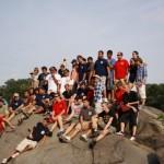 Gemeinsames Gruppenfoto im Central Park <br>© FF Stellingen<br